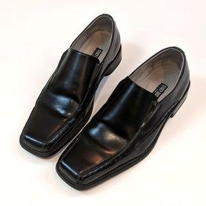 Stacy Adams Danton Mens 11 M Black Leather Shoes